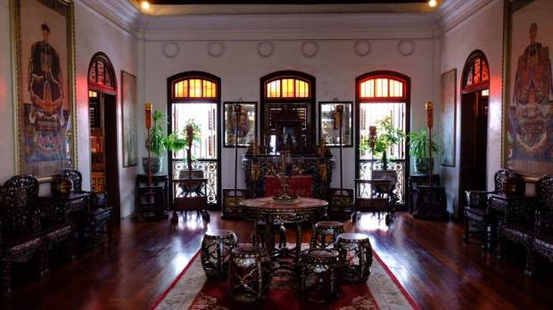 Beautiful interior at Pinang Peranakan Museum